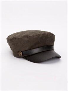 Haki Süet Denizci Şapkası 9W1832Z8 LC Waikiki