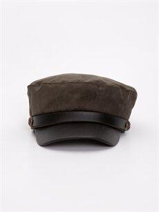 %100 Polyester %100 Pamuk  Süet Denizci Şapkası