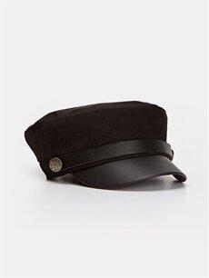 Siyah Süet Denizci Şapkası 9W1832Z8 LC Waikiki