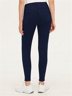 %74 Pamuk %24 Polyester %2 Elastan Super Skinny Jean Pantolon