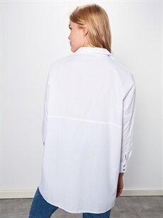 Kadın Düz Pamuklu Bluz