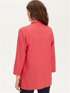 %97 Polyester %3 Elastan Blazer Ceket
