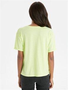 Kadın Yazı Baskılı Tişört