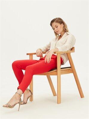 Normal Bel Esnek Slim Pantolon - LC WAIKIKI