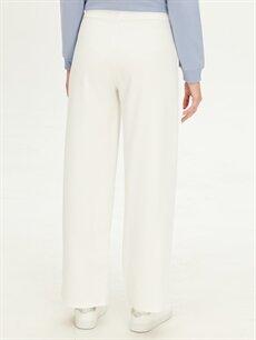 %95 Polyester %5 Elastan Esnek Bol Krep Pantolon