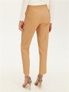 %85 Polyester %15 Poliamid Normal Bel Gabardin Pantolon
