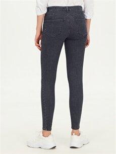 %85 Pamuk %13 Polyester %2 Elastan Skinny Jean Pantolon