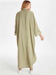 Kadın Düz Uzun Viskon Tunik