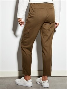 Kadın Bilek Boy Kargo Pantolon