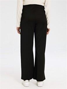 %95 Polyester %5 Elastan Geniş Paça Hamile Pantolon