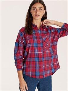 Kadın Ekose Gömlek
