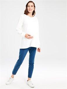 %74 Pamuk %22 Polyester %4 Elastan Jean Hamile Skinny Jean Pantolon