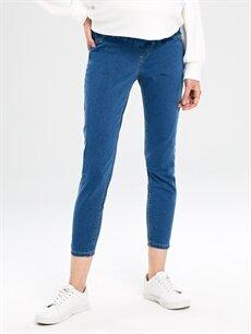Kadın Hamile Skinny Jean Pantolon