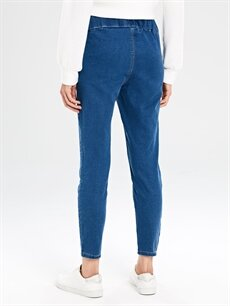 %74 Pamuk %22 Polyester %4 Elastan Hamile Skinny Jean Pantolon