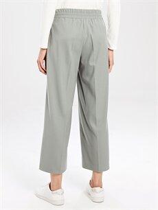 Kadın Bilek Boy Bol Paça Pantolon