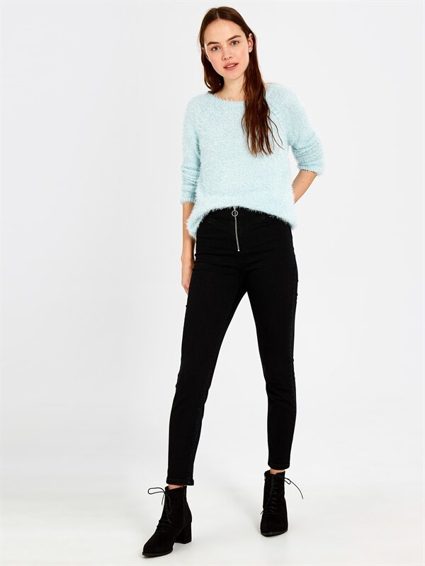 Yüksek Bel Skinny Pantolon - LC WAIKIKI