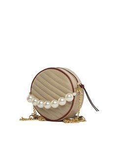 Bagmori Krem Kadın Askılı Çanta