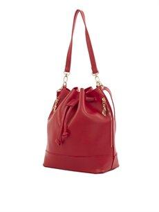 Bagmori Kırmızı Kadın Askılı Çanta
