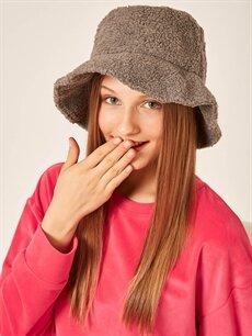 Kadın Axesoire Gri Şapka