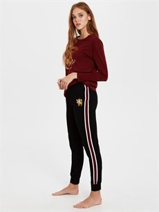 %100 Pamuk Standart Pijamalar Harry Potter Amblemli Pamuklu Pijama Takımı