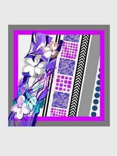 Çok Renkli Armine Twill Eşarp 9WB369Z8 LC Waikiki