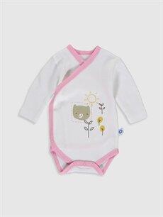 Kız Bebek Luggi Baby Yenidoğan Desenli Takım 2'li