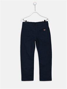 %100 Pamuk Normal Normal Bel Erkek Çocuk Gabardin Pantolon