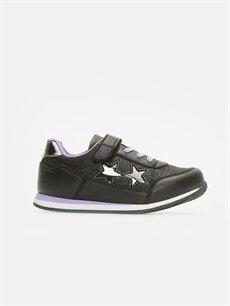 Siyah Kız Çocuk Spor Ayakkabı 9W1330Z4 LC Waikiki