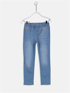 İndigo Kız Çocuk Super Skinny Jean Pantolon 9W1602Z4 LC Waikiki