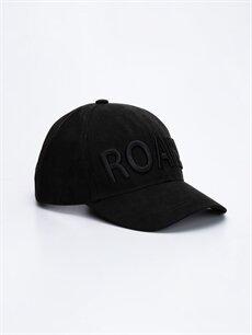 Siyah Erkek Çocuk Yazı Nakışlı Şapka 9W1650Z4 LC Waikiki