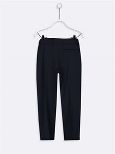 %64 Polyester %31 Viskoz %5 Elastan Normal Erkek Çocuk Slim Fit Chino Pantolon