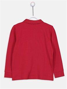 %100 Pamuk Düz Normal Tişört Polo Uzun Kol Erkek Çocuk Uzun Kollu Basic Tişört