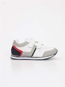 Beyaz Erkek Çocuk Işıklı Spor Ayakkabı 9W3188Z4 LC Waikiki