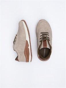 Diğer malzeme (pvc) Tekstil malzemeleri  Erkek Çocuk Bağcıklı Günlük Spor Ayakkabı