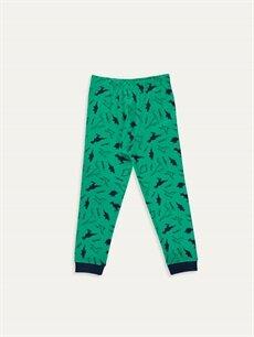Yeşil Erkek Çocuk Pamuklu İçlik 9W3685Z4 LC Waikiki
