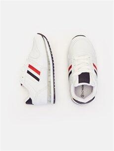 Diğer malzeme (poliüretan) Tekstil malzemeleri  Erkek Çocuk Işıklı Spor Ayakkabı