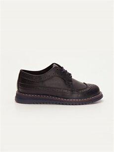 Lacivert Erkek Çocuk Klasik Ayakkabı 9W4104Z4 LC Waikiki