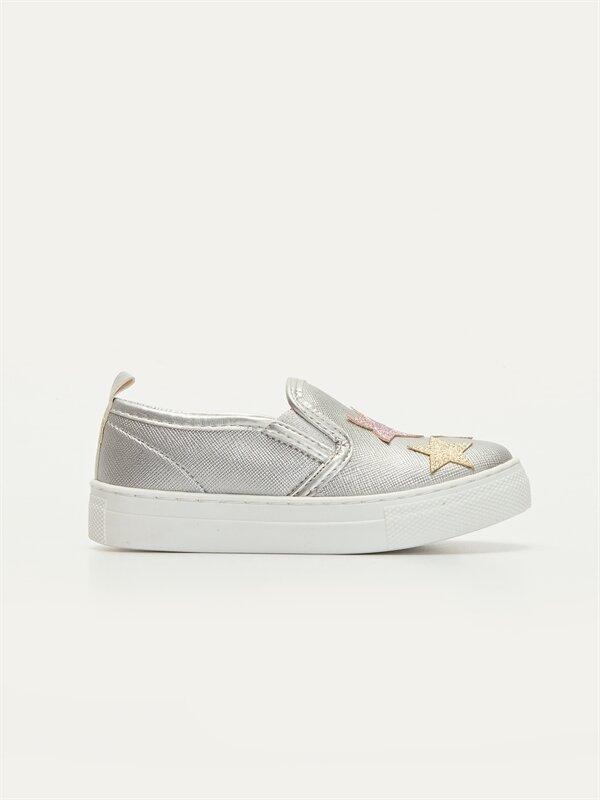 Kız Çocuk Yıldız Detaylı Ayakkabı - LC WAIKIKI