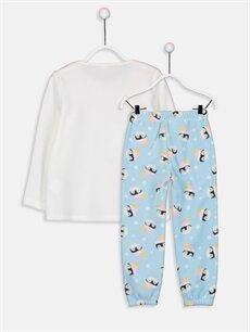 %100 Polyester Standart Pijamalar Kız Çocuk Polar Pijama Takımı