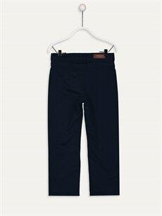 %100 Pamuk %100 Polyester Bol Normal Bel Erkek Çocuk Gabardin Pantolon