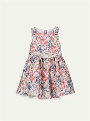 Kız Çocuk Çiçekli Elbise - LC WAIKIKI