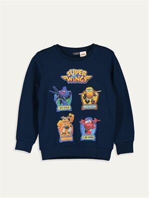 Erkek Çocuk Harika Kanatlar Pamuklu Tişört - LC WAIKIKI