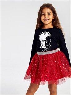 Kız Çocuk Kız Çocuk Yıldız Desenli Tütü Etek