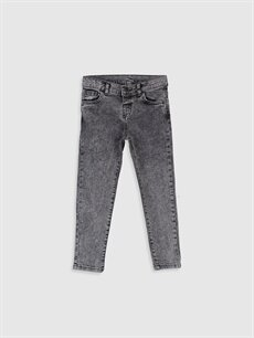 Siyah Erkek Çocuk Skinny Jean Pantolon 9WG618Z4 LC Waikiki