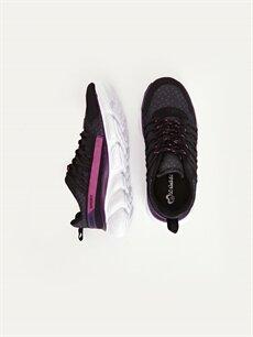 %0 Diğer malzeme (poliüretan) %0 Tekstil malzemeleri (%100 poliester)  Kız Çocuk Günlük Spor Ayakkabı