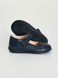 Kız Çocuk Kız Çocuk Cırt Cırtlı Babet Ayakkabı