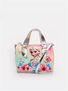 Pembe Kız Çocuk Frozen Elsa Kol Çantası 9WK303Z4 LC Waikiki