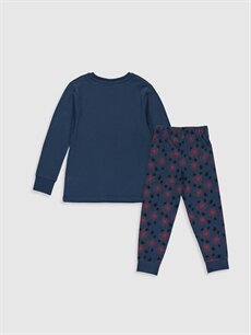 %100 Pamuk Standart Pijamalar Erkek Çocuk Spiderman Pijama Takımı