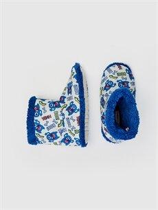 Tekstil malzemeleri Tekstil malzemeleri  Erkek Çocuk Pelüş Astarlı Ev Botu