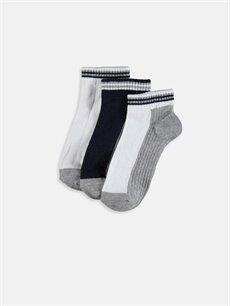 Çok Renkli Erkek Çocuk Soket Çorap 3'lü 9WP593Z4 LC Waikiki